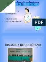 Dinámica de Quirófano