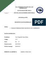 Guía Preparatoria Laboratorio de Resistencia de Materiales (Ensayo de Compresión)