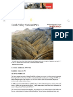 death valley national park - national geographic