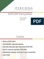 EXPLAIN Demystified Presentation