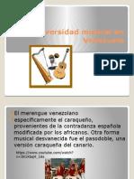 La Diversidad Musical en Venezuela