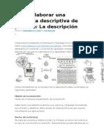 Como Elaborar Una Memoria Descriptiva de Patent1