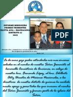 Informe Santa Ana Dto 17 - Primer Trimestre