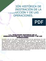 Admin is Trac Ion de Procesos y de ProduccionESTRUCTURA