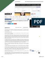 20.5.2015, 'Italia Liberty. Un Progetto e Concorso Fografico Per Censire l'Art Nouveau', Notizie