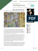 18.1.2015, 'La Rivoluzione Floreale Del Liberty', Wall Street International