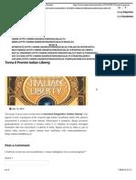 13.4.2015, 'Torna Il Premio Italian Liberty', Osservatorio Socialis