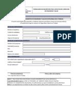 Formulario de Inscripcion Capacitación SST