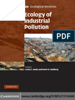 Ecology of Industrial Pollution_Ecological Reviews