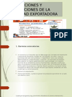 Restricciones y Prohibiciones de La Actividad Exportadora