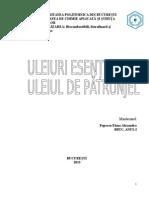 Valorificarea Biomasei- POPESCU ELENA ALEXANDRA