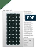 Datasheet Panel Solar