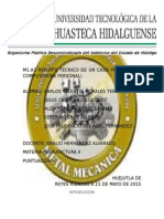 M1:A1 REPORTE TÉCNICO DE UN CASO PRÁCTICO (LA COMPUTADORA PERSONAL)