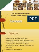 Cereais materias primas