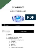 ISO 9001:2015 Avances del Draft