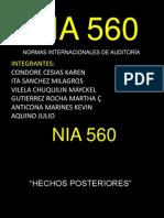 NIA 560
