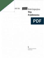 Wstęp do językoznawstwa - R. Grzegorczykowa