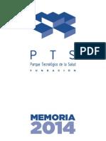 Memoria 2014 Fundación PTS