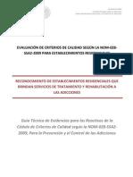 Guia Tecnica de Evidencias 2015-1