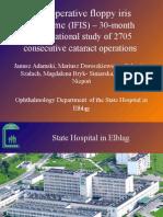 IFIS- Intraoperative floppy iris syndrome Wa Wa 27-09-2008