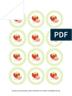Strawberry Party Printables