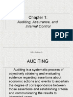 IT AUDIT - Auditing, Assurance and Internal Control