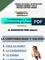 SESION-4-Confiabilidad y Validez de Instrumentos de Investigacion