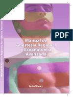Manual de Anestesia Regional y Ecoanatomia Avanzada (Dr. Prada)