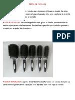 clases de cepillo