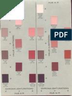Tabla de Colores sedimentologia