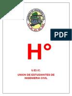 Proyecto de Hidrologia (u.e.i.c.)