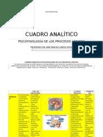 Cuadro Analitico Anny Campos - Psicofisiologia