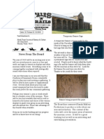 Tails&Trails Museum Newsletter-Feb 2010