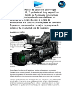 Manual de Periodismo en Sony Vegas Pro 11, 12, 13