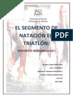 Segmento de Natacion en Triatlon2