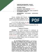 Sentencia de amparo a favor de Pedro Canché