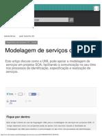 Modelagem de Serviços Com UML