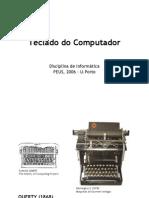 Teclado do Computador