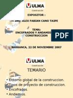 Presentacion de Encofrados y Andamios ULMA