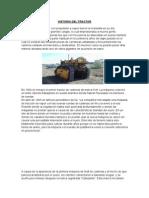 Historia Del Tractor