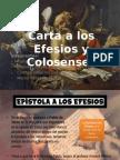 Carta a Los Efesios y Los Colosenses (1)