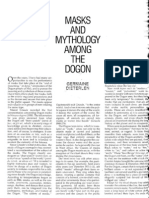 Mask Mythology Amongst the Dogon