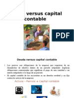 Deuda Versus Capital Contable