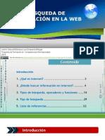 Busqueda Informacion en La Web