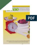 Smae2014 sistema mexicano de alimentos equivalentes