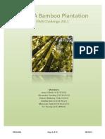 EWB Project - JARANA Bamboo Plantation