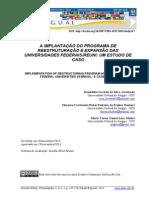 Revista Gual Implantação Do Reuni Estudo de Caso32120-107606-1-Pb