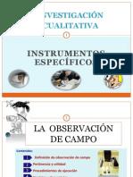 Observacion y sus componentes