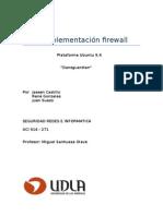 Implementación Firewall
