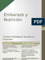 Embarazo y Nutricion